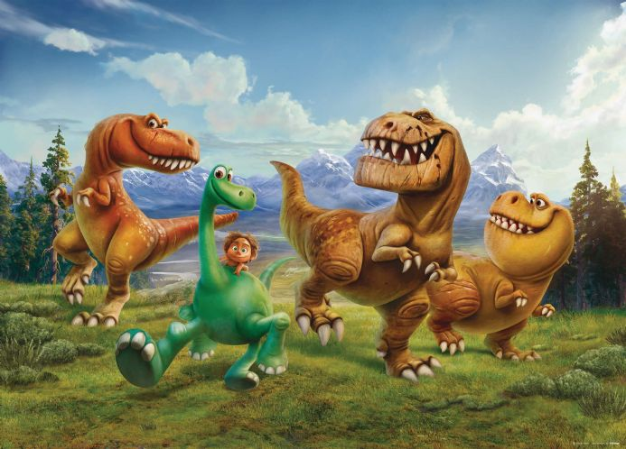 The Good Dinosaur Small Premium wall murals | Buy it now